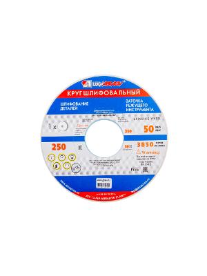 Круг шлифовальный ЛУГА-АБРАЗИВ 1  250  Х 32 Х 76 25А 40 K,L