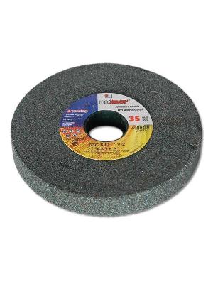 Круг шлифовальный ЛУГА-АБРАЗИВ 1  80 Х 20 Х 20 63С 100 K,L (12СМ)