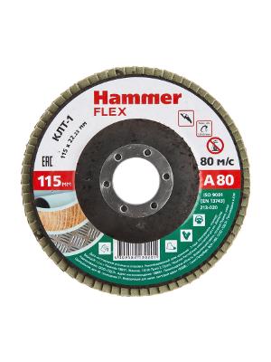 Круг Лепестковый Торцевой (КЛТ) HAMMER Ф115х22