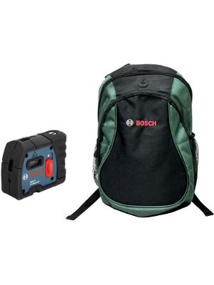 Набор BOSCH Уровень GPL 5 Professional (0601066200) +Рюкзак Green (1619G45200)